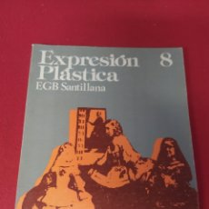 Libros: LIBRO EXPRESIÓN PLÁSTICA 8 E.G.B. SANTILLANA. Lote 265405759