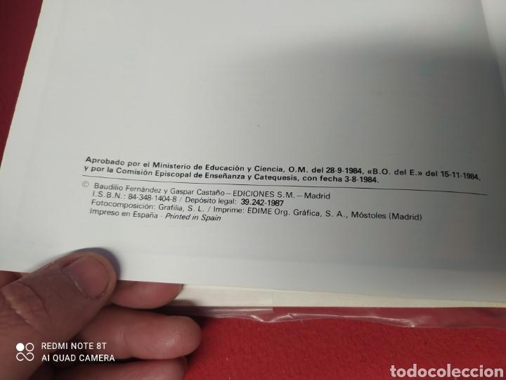 Libros: LIBRO RELIGION CATÓLICA 8 E.G.B. - Foto 5 - 265406159