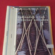 Libros: LIBRO MATEMÁTICAS 1 BACHILLERATO. Lote 265406524