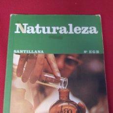 Libros: LIBRO NATURALEZA 8 E.G.B. SANTILLANA. Lote 265408869