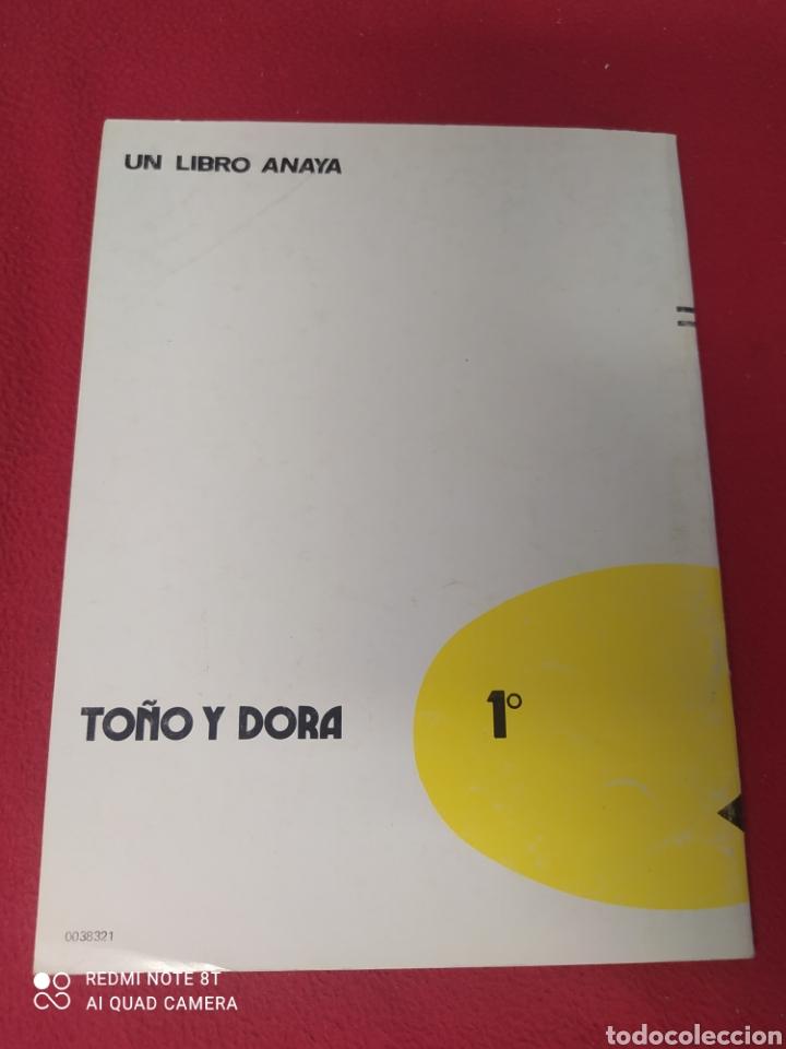 Libros: LIBRO TOÑO Y DORADO 1 E.G.B.ANAYA - Foto 2 - 265409129