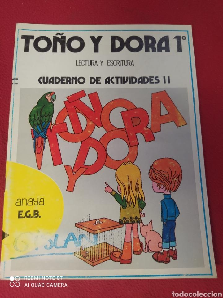 LIBRO TOÑO Y DORADO 1 E.G.B.ANAYA (Libros Nuevos - Libros de Texto - Infantil y Primaria)