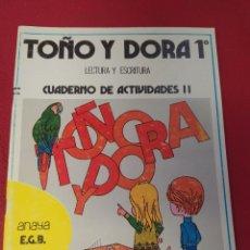 Libros: LIBRO TOÑO Y DORADO 1 E.G.B.ANAYA. Lote 265409129
