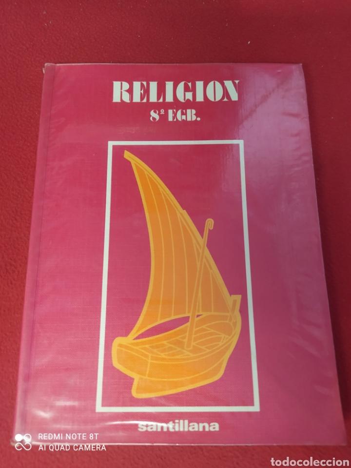 LIBRO RELIGION 8 E.G.B. SANTILLANA (Libros Nuevos - Libros de Texto - Infantil y Primaria)