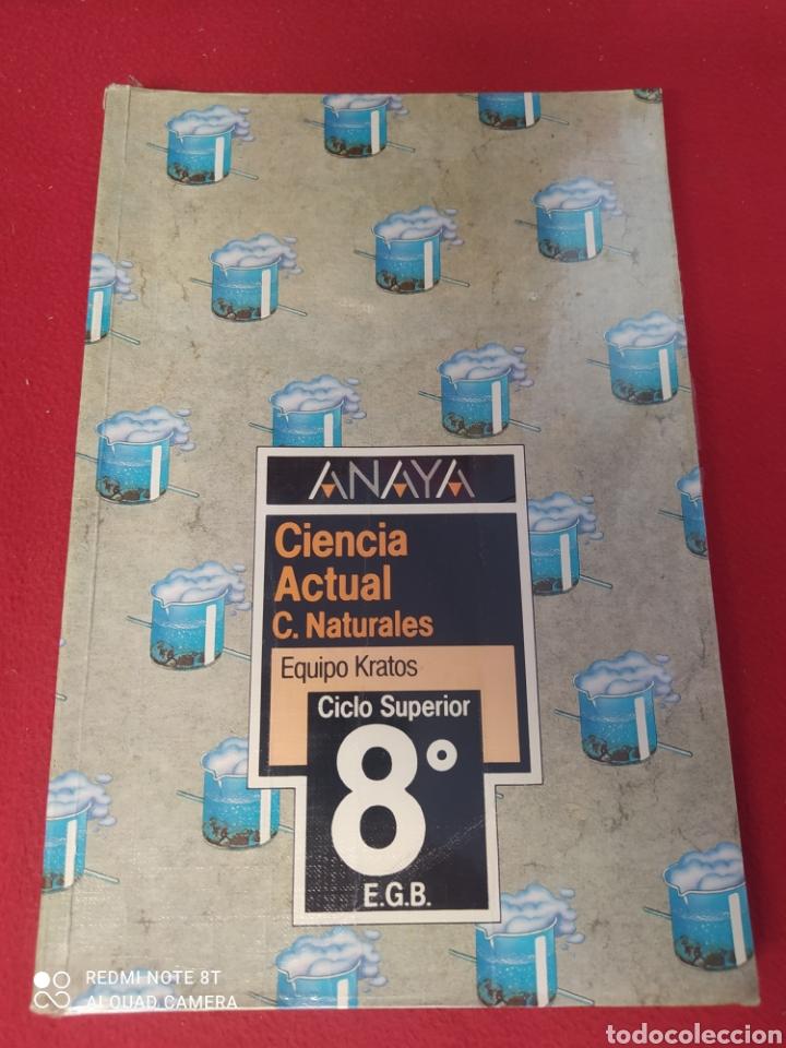 CIENCIA ACTUAL C.NATURALES 8 E.G.B ANAYA (Libros Nuevos - Libros de Texto - Infantil y Primaria)