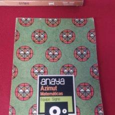 Libros: LIBRO ANIMAL MATEMÁTICAS 8 E.G.B. ANAYA. Lote 265410034