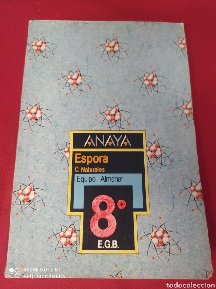 LIBRO ESPORÁDICAS C. NATURALES 8 E.G.B. ANAYA (Libros Nuevos - Libros de Texto - Infantil y Primaria)