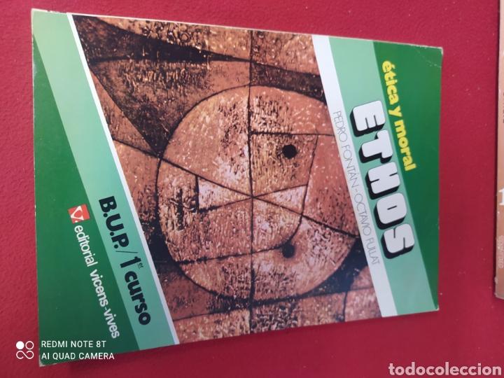 LIBRO ÉTICA Y MORAL ETHOS 1 BUP (Libros Nuevos - Libros de Texto - Bachillerato)