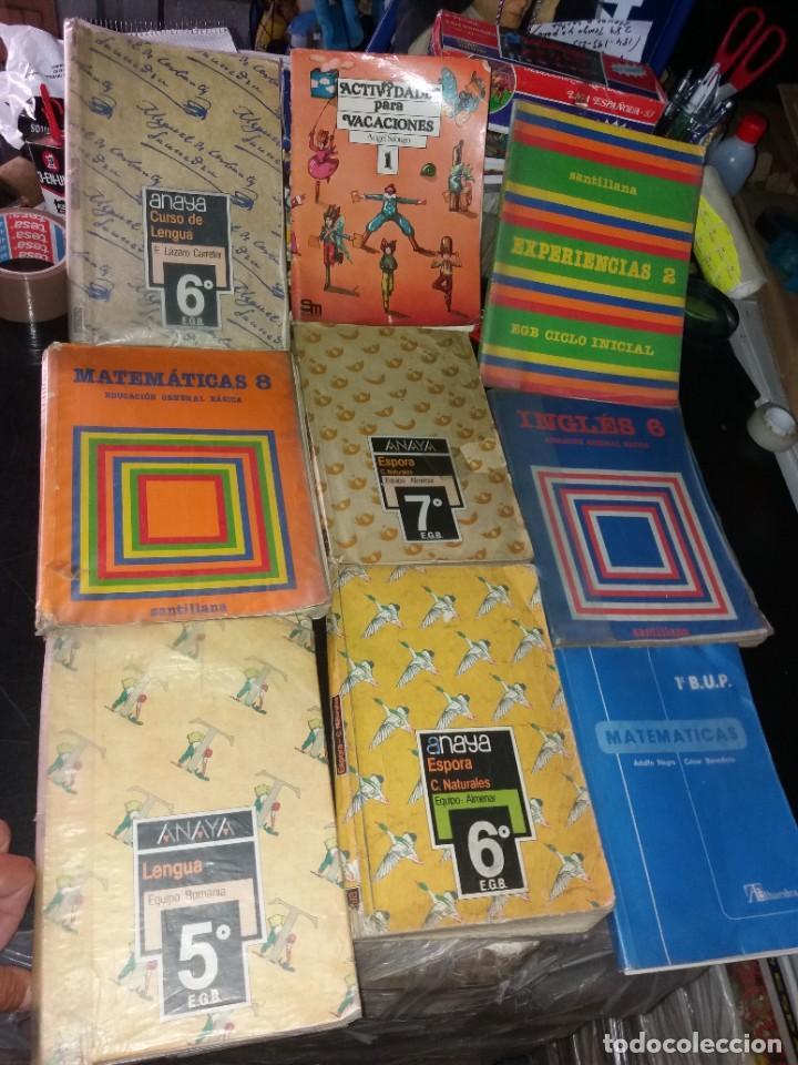 LOTE DE LIBROS DE TEXTO AÑOS 80 (Libros Nuevos - Libros de Texto - Infantil y Primaria)