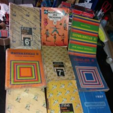 Libros: LOTE DE LIBROS DE TEXTO AÑOS 80. Lote 266056763