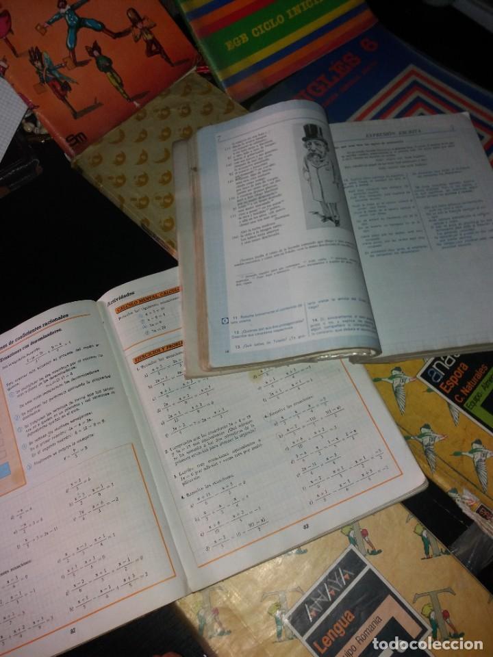 Libros: LOTE DE LIBROS DE TEXTO AÑOS 80 - Foto 3 - 266056763