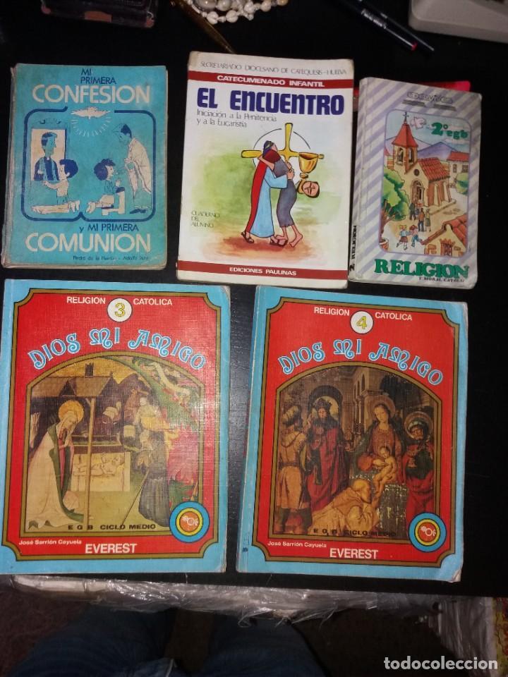 LIBROS DE TEXTO RELIGIOSOS AÑOS 80 (Libros Nuevos - Libros de Texto - Infantil y Primaria)