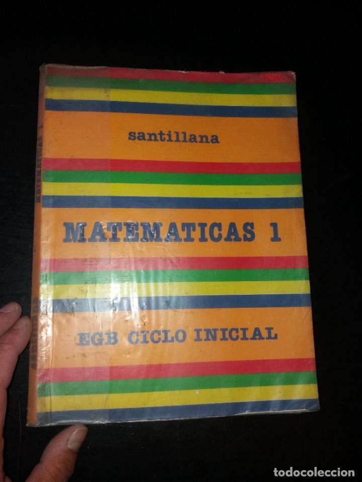 MATEMÁTICAS DE 1 EGB AÑOS 80 (Libros Nuevos - Libros de Texto - Infantil y Primaria)