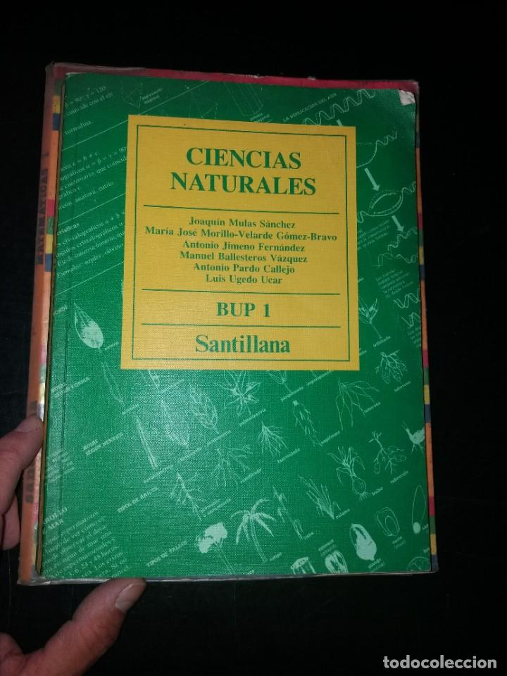 CIENCIAS NATURALES 1 BUP AÑOS 80 (Libros Nuevos - Libros de Texto - Infantil y Primaria)