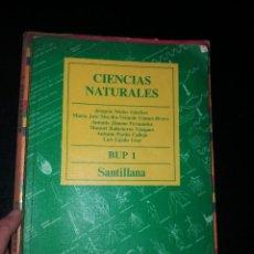 Libros: CIENCIAS NATURALES 1 BUP AÑOS 80. Lote 266061018
