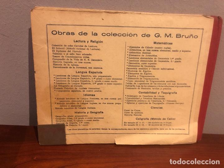 Libros: GEOGRAFIA -ATLAS- 1936-G.M-BRUÑO .-libro escolar - Foto 2 - 267159359