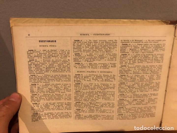 Libros: GEOGRAFIA -ATLAS- 1936-G.M-BRUÑO .-libro escolar - Foto 5 - 267159359