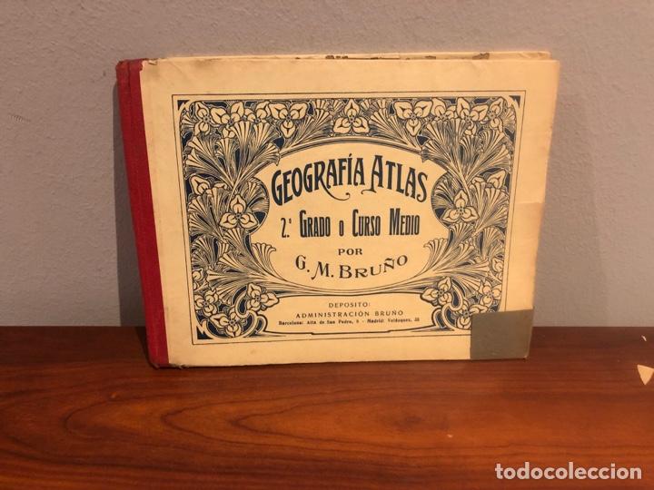 GEOGRAFIA -ATLAS- 1936-G.M-BRUÑO .-LIBRO ESCOLAR (Libros Nuevos - Libros de Texto - Ciclos Formativos - Grado Medio)