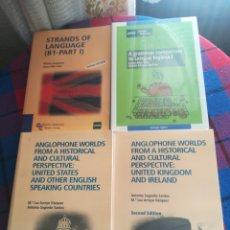 Libros: LOTE LIBROS UNED ESTUDIOS NORTEAMERICANOS Y OTROS. Lote 140494704