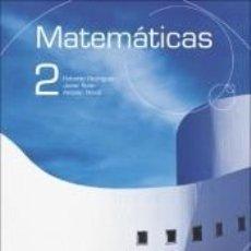 Libros: MATEMATICAS 2. BACHILLERATO. Lote 269080468