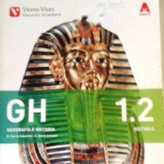 Libros: 1º ESO GEOGRAFÍA E HISTORIA - VICENS VIVES - LIBRO1.2. Lote 269195783