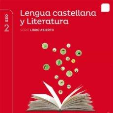 """Libros: 2º ESO - LENGUA Y LITERATURA - SERIE LIBRO ABIERTO - PROYECTO """"SABER HACER"""" - SANTILLANA.. Lote 269198768"""