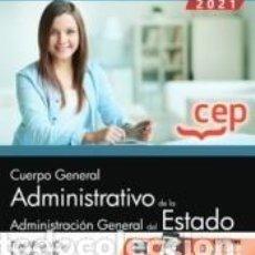 Libros: CUERPO GENERAL ADMINISTRATIVO DE LA ADMINISTRACIÓN GENERAL DEL ESTADO (TURNO LIBRE). TEMARIO VOL. I. Lote 269247788