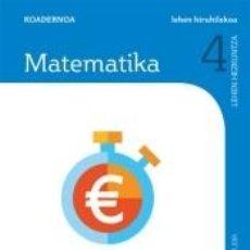 Libros: CUADERNO MATEMATICAS 4 PRIMARIA 1 TRIM SABER HACER CONTIGO ZUBIA. Lote 269384748