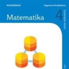 Libros: CUADERNO MATEMATICAS 4 PRIMARIA 2 TRIM SABER HACER CONTIGO ZUBIA. Lote 269384758