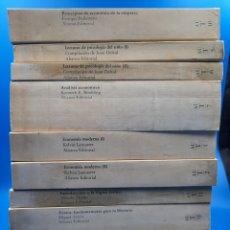 Libros: ALIANZA UNIVERSIDAD TEXTOS. KEVIN LANCASTER, JUAN DELVAL, KENNEDY E. BOULDING, MIGUEL ARTOLA .... Lote 269951203