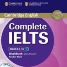 Libros: COMPLETE IELTS BANDS 6.5-7.5 WORKBOOK WITH ANSWERS WITH AUDIO CD. Lote 271573773