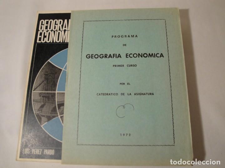 Libros: Geografía Económica I. Primer Curso. Autor: D. Luis Pérez Pardo. Año 1972. - Foto 10 - 273166818