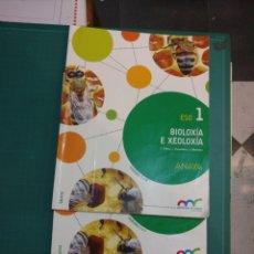 Libros: BIOLOXIA E XEOLOXIA . ANAYA 2015 PRIMERO ESO. Lote 274619658