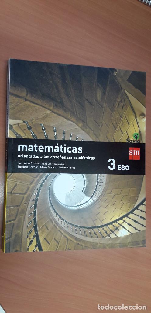11-00660-ISBN-9-788467-576221 - MATEMATICAS -3º ESO (Libros Nuevos - Libros de Texto - ESO)