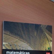 Libros: 11-00660-ISBN-9-788467-576221 - MATEMATICAS -3º ESO. Lote 276174258