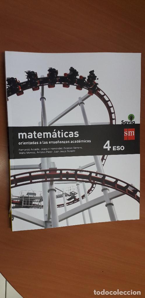 11-00661-ISBN-9-788467-586930 - MATEMATICAS -4º ESO (Libros Nuevos - Libros de Texto - ESO)