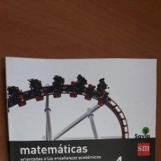 Libros: 11-00661-ISBN-9-788467-586930 - MATEMATICAS -4º ESO. Lote 276174413