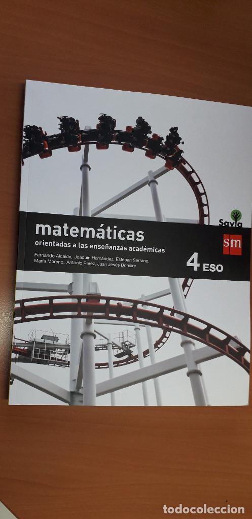 11-00662-ISBN-9-788467-586930 - MATEMATICAS -4º ESO (Libros Nuevos - Libros de Texto - ESO)