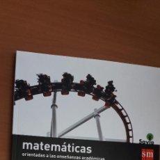 Libros: 11-00662-ISBN-9-788467-586930 - MATEMATICAS -4º ESO. Lote 276174653