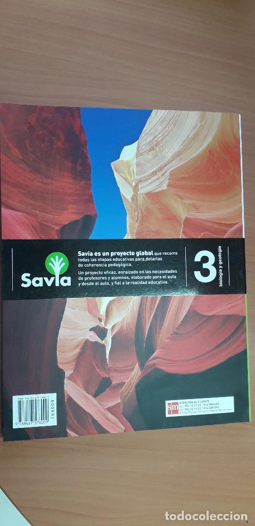 Libros: 11-00664-ISBN-9-788467-576009 - BIOLOGIA Y GEOLOGIA -3º ESO - Foto 2 - 276175958