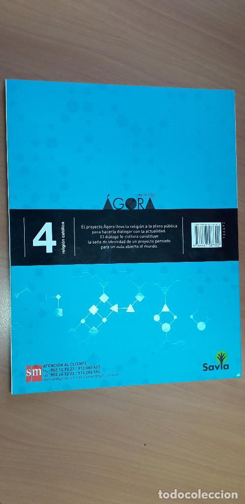 Libros: 11-00666-ISBN-9-788467-587302 - RELIGION CATOLICA -4º ESO - Foto 2 - 276176108