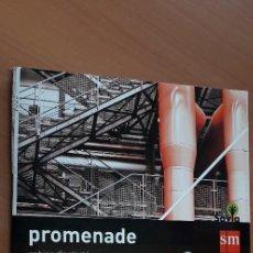 Libros: 11-00667-ISBN-9-788467-578010 - PROMENADE -FRANCES - 3º ESO. Lote 276176218