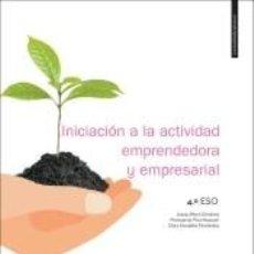 Libros: INICIACIÓN A LA ACTIVIDAD EMPRESARIAL Y EMPRENDEDORA, 4º ESO. Lote 276676128