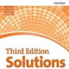 Libros: SOLUTIONS 3RD EDITION UPPER-INTERMEDIATE. WORKBOOK PK. Lote 276823658