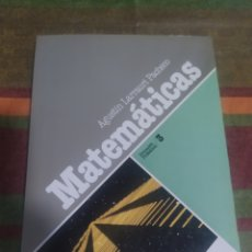Libros: LIBRO MATEMÁTICAS FORMACIÓN PROFESIONAL 3. Lote 276995213