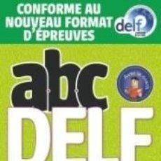 Libros: ABC DELF JUNIOR SCOLAIRE - NIVEAU A2 - LIVRE+DVD - CONFORME AU NOUVEAU FORMAT D. Lote 277576413