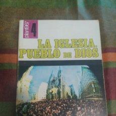 Libros: LIBRO LA IGLESIA PUEBLO DE DIOS. Lote 277680358