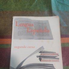 Libros: LENGUA ESPAÑOLA SEGUNDO CURSO ANAYA. Lote 277680593