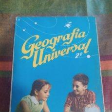 Libros: GEOGRAFÍA UNIVERSAL 2* S.M.. Lote 277681018