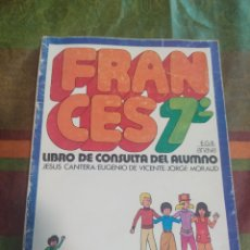 Libros: FRANCÉS 7* E.G.B. ANAYA. Lote 277682238